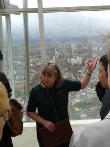 Training on Level 72 at The View From The Shard