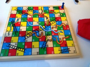 Snakes and Ladders at St James's Hotel