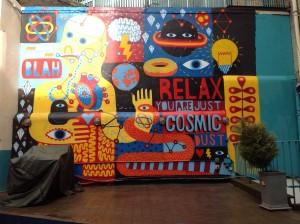 David Shillinglaw mural at Zetland House