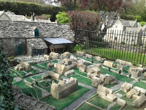 A model village within a model village!
