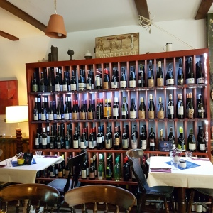 Just a few of the 70+ Hiungarian wines on their extensive wine list!